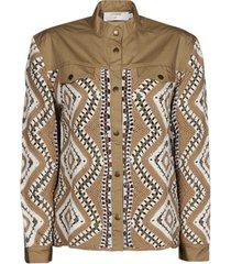 windjack cream solde jacket