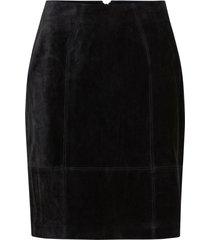 mockakjol vifaith hw suede slit skirt