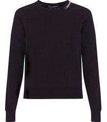 dolce & gabbana silk and cotton round-neck sweater