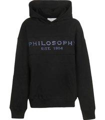 philosophy di lorenzo serafini logo hoodie
