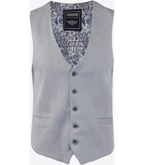 gilet gabbiano denim 2666 gilet light blue