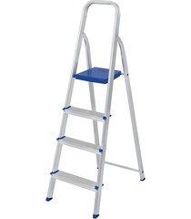 escada de alumínio mor, 4 degraus - 5102