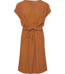 erisa dress knälång klänning orange minus