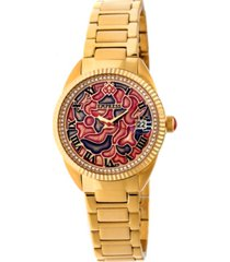 empress helena automatic gold stainless steel watch 36mm