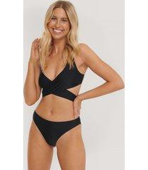 na-kd swimwear bikinitrosa i v-string - black