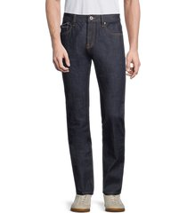 cult of individuality men's rocker slim jeans - blue dry - size 34
