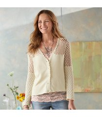 soft sampler cardigan sweater