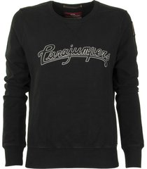 parajumpers bianca black sweatshirt sweater