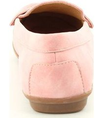 mocasines para mujer via spring color rosado via spring - rosa