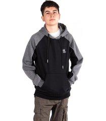 teen hoodie  canguro compass negro gangster