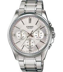 reloj casio mtp-1375d-7a-gris