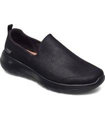 womens gowalk joy loafers låga skor svart skechers