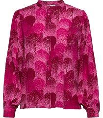 ihkersti sh blouse lange mouwen roze ichi