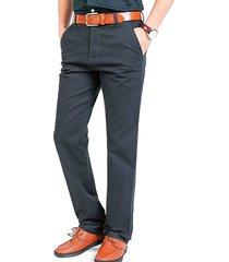mens outdoor carico pantaloni pantaloni lunghi dritti in cotone casual tuta anti-usura