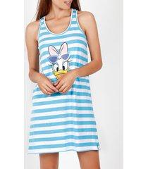 pyjama's / nachthemden admas daisy strepen disney babydoll
