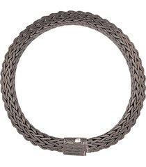 john hardy classic chain bracelet - grey