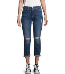 josefina monroe high-waist jeans