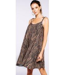 sukienka vibe zebra toffie
