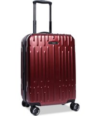 """closeout! revo rain 20"""" hardside expandable carry-on spinner suitcase, created for macy's"""