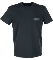 fay cotton t-shirt with rubberized logo