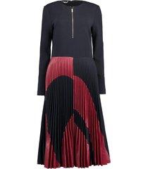 lottie pleated dress