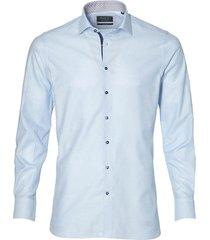 nils overhemd - slim fit - blauw