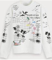 scotch & soda hawaiian island sweatshirt