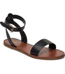 campodoro-w shoes summer shoes flat sandals svart aldo
