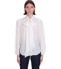 see by chloé blouse in white silk