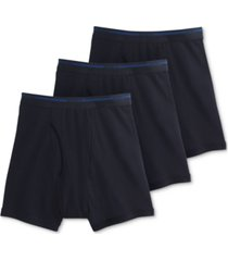 jockey men's classic 3 pack cotton boxer briefs