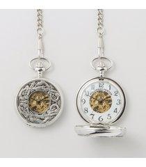 mullingar pewter book of kells pocket watch