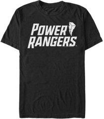 fifth sun men's flat power logo short sleeve crew t-shirt