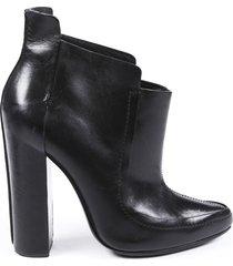 alexander wang kim leather booties