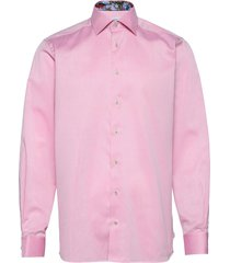 contemporary fit business signature twill shirt overhemd business roze eton