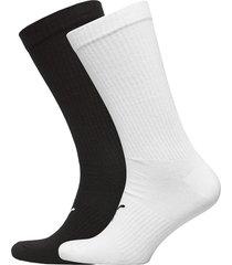 puma men logo sock 2p underwear socks regular socks multi/mönstrad puma