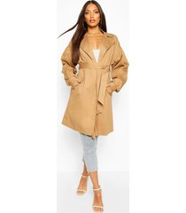 extreme sleeve trench coat, camel