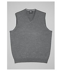 traveler collection merino wool men's sweater vest - big & tall