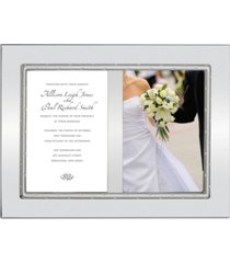 lenox devotion ring double invitation frame