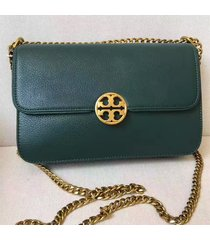 tory burch chelsea convertible leather shoulder bag