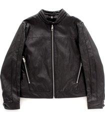 mkco00209 leather jacket