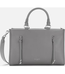 ted baker women's hanee tote bag - dark grey