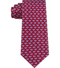 tommy hilfiger men's classic small turtles tie