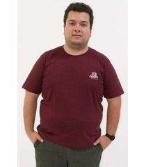 camiseta kauê plus size estampa frente costas masculina - masculino