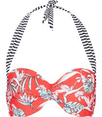 reggiseno bikini con ferretto (rosso) - bpc bonprix collection