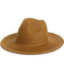 women's treasure & bond panama hat - brown