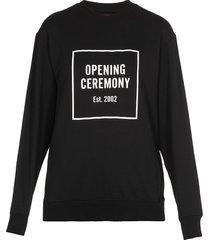 opening ceremony box logo sweatshirt