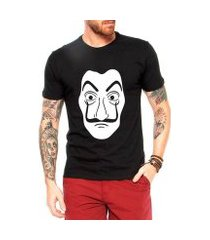 camiseta criativa urbana mascara dali