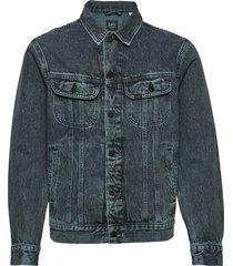 lee rider jacket jeansjacka denimjacka blå lee jeans
