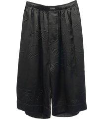 balenciaga balenciaga black shorts