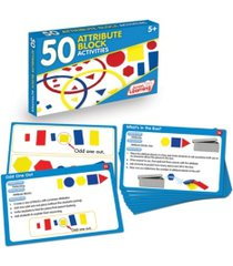 junior learning 50 attribute block activities learning set
